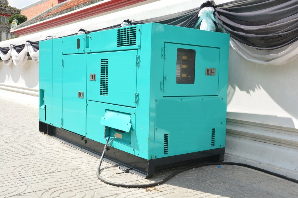 generator for emergency electric power