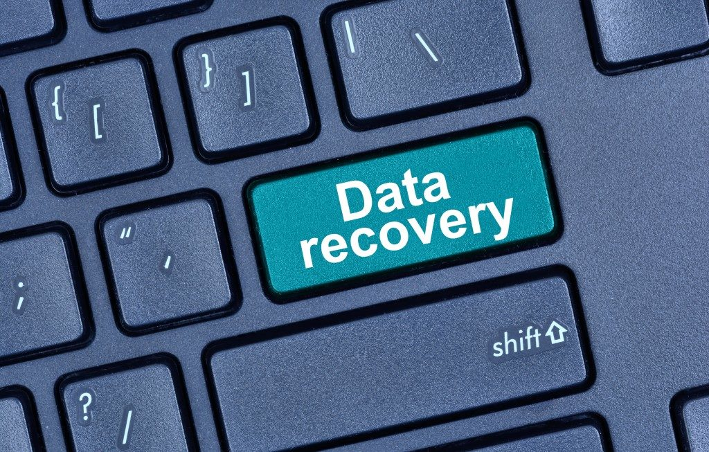 data recovery on keyboard