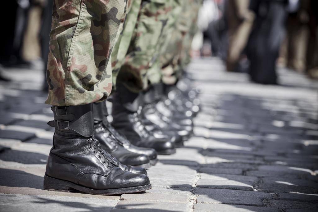 military line